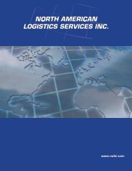 North American Logistics Services Order Form - Pacific Dental ...
