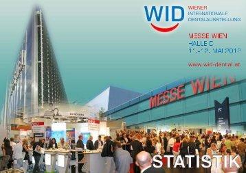 WID12 BesucherStatistik - Wiener Internationale Dentalausstellung