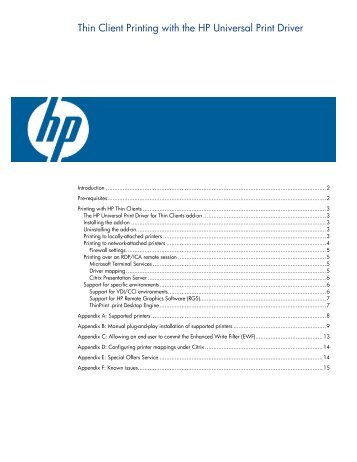 HP Universal Print Driver For Windows Version 4