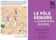 Programme Ateliers, animations, tarifs, etc... - La Seyne-sur-Mer