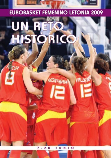 EuroBasket Femenino Letonia 2009 - Federación Española de ...