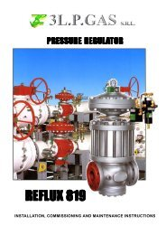 3l.p. gas technical specifications - 3L.P. GAS srl A manufacturer of ...