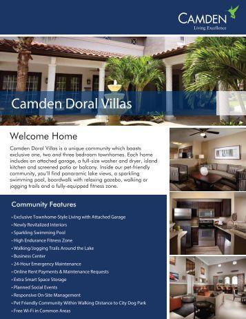 eBrochure_Doral Villas - Camden