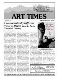 September/ October 2012 - Art Times