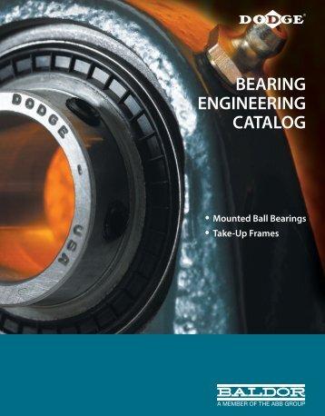 BEARING ENGINEERING CATALOG - Tecnica Industriale Srl