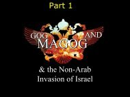 GOG AND & the Non-Arab Invasion of Israel Part 1 - Congregation ...