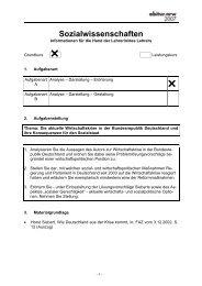 Schriftliche Abiturprüfung 2007: Deutsch - Hulda Pankok ...
