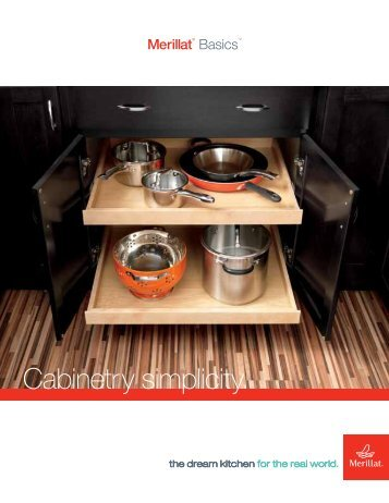 Cabinetry simplicity.