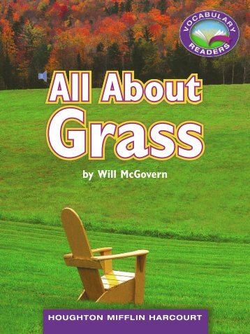 Lesson 8:All About Grass