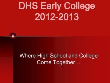 Informational Packet - Durango High School