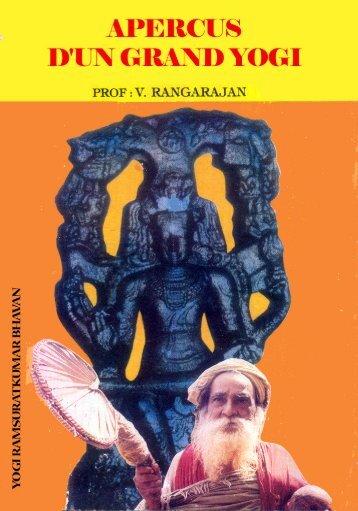 apercus d'un grand yogi - Yogi Ramsurat Kumar