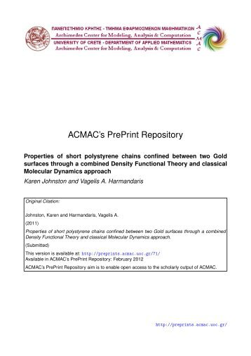 Download (1201Kb) - ACMAC's PrePrint Repository