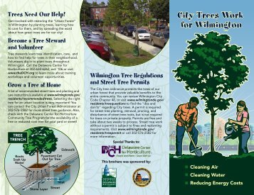 CityTreesWorkForWilm.. - City of Wilmington, Delaware