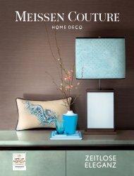 MEISSEN COUTURE Home Deco: Zeitlose Eleganz