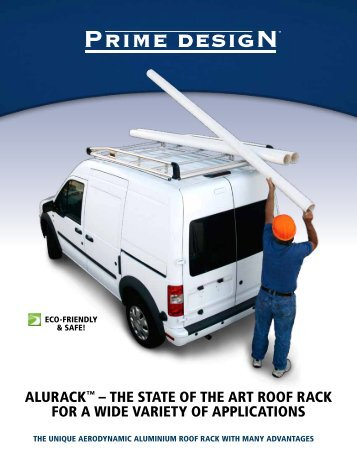 ALURACK™ – THE STATE OF THE ART ROOF ... - Prime Design