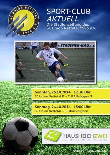 SPORT-CLUB AKTUELL - No. 6 (26.10.2014)