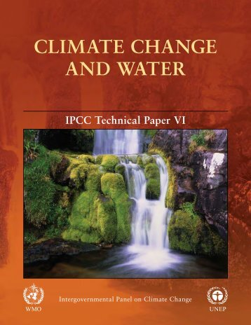 Technical Paper on Climate Change and Water - IPCC