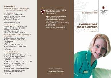 L'OPERATORE - Trentino Salute