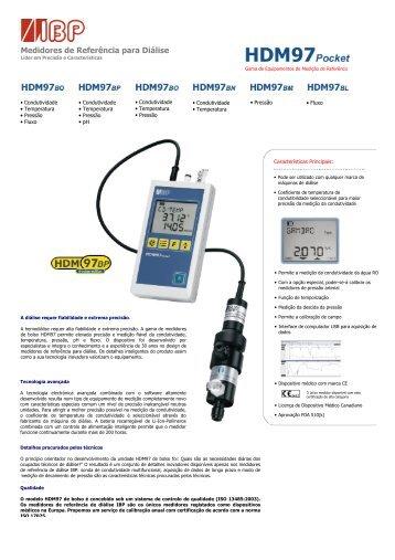 Medidores de Referência para Diálise - IBP Medical