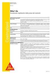 [PDF] Sika®-4a - Sika Italia SpA