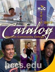 hcc catalog - HCC Southwest College