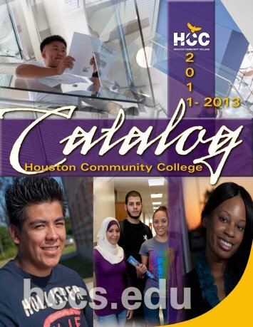 hcc catalog - HCC Southwest College