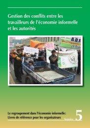 Gestion des conflits entre les travailleurs de l ... - Inclusive Cities