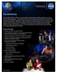 Pyrotechnics - NASA