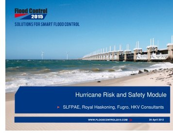 Hurricane Risk and Safety Module - Royal Haskoning