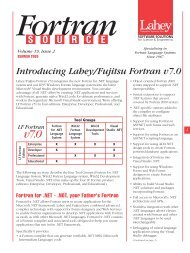 IMSL Fortran Numerical Libraries - Lahey Computer Systems