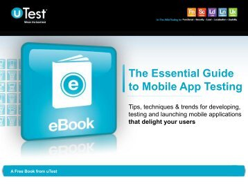 The Essential Guide to Mobile App Testing - Ecu
