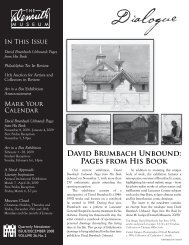David Brumbach Unbound: Pages from His Book - The Demuth ...