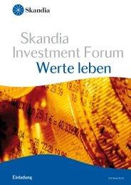 01_Einladung Investment Forum - Skandia