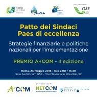 Programma - Alleanza per il Clima Italia onlus