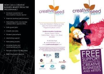 Creative SEED Brochure - E-Craigavon
