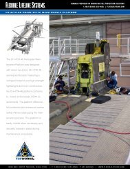 The CH-47/H-46 Helicopter Main - Flexible Lifeline Systems