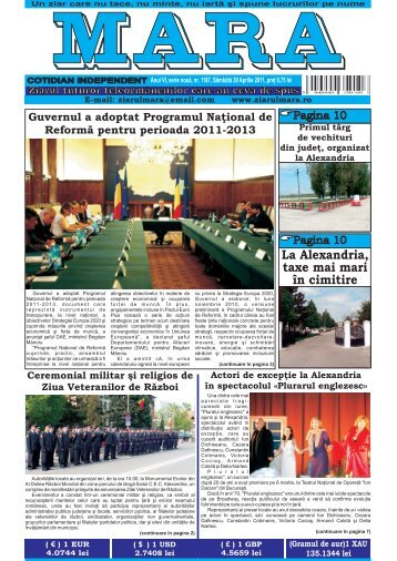 Descarca nr. 1187 - Ziarul Mara