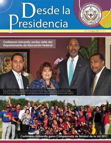 residencia esde la D P - Caribbean University