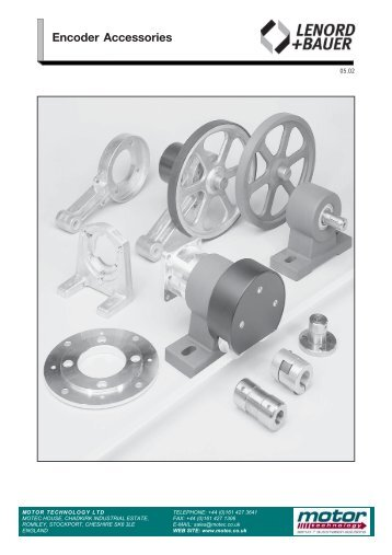 Encoder Accessories - Motor Technology Ltd