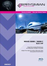 MOVIS 3GKW / 3GKW C 0,6/1 kV - Prysmian Group