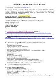 Assistant Professor - Instituto de Química - USP
