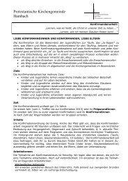 Informationsbrief - Evangelische Kirche der Pfalz