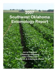 2007 - Oklahoma Crop Variety Trials - Oklahoma State University