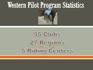 presentation that provides information on the Western Pilot Program
