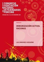 INmuNIzACIóN ACtIvA. vACuNAS - Asociación de Veterinarios del ...