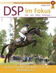DSP im Fokus: Zucht - Sport - Haltung - Vermarktung