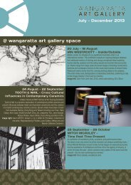 to Download the Current Gallery Program - Rural City of Wangaratta