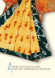 Textiles Gallery - The Ashmolean Museum