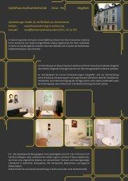 Details Apartment Q26 B - Ferienwohnung Bochum