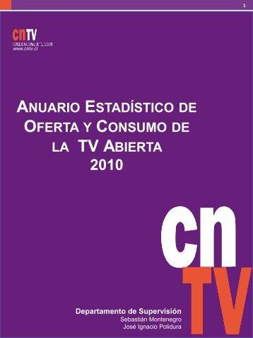 Presentación del anuario. - CNTV